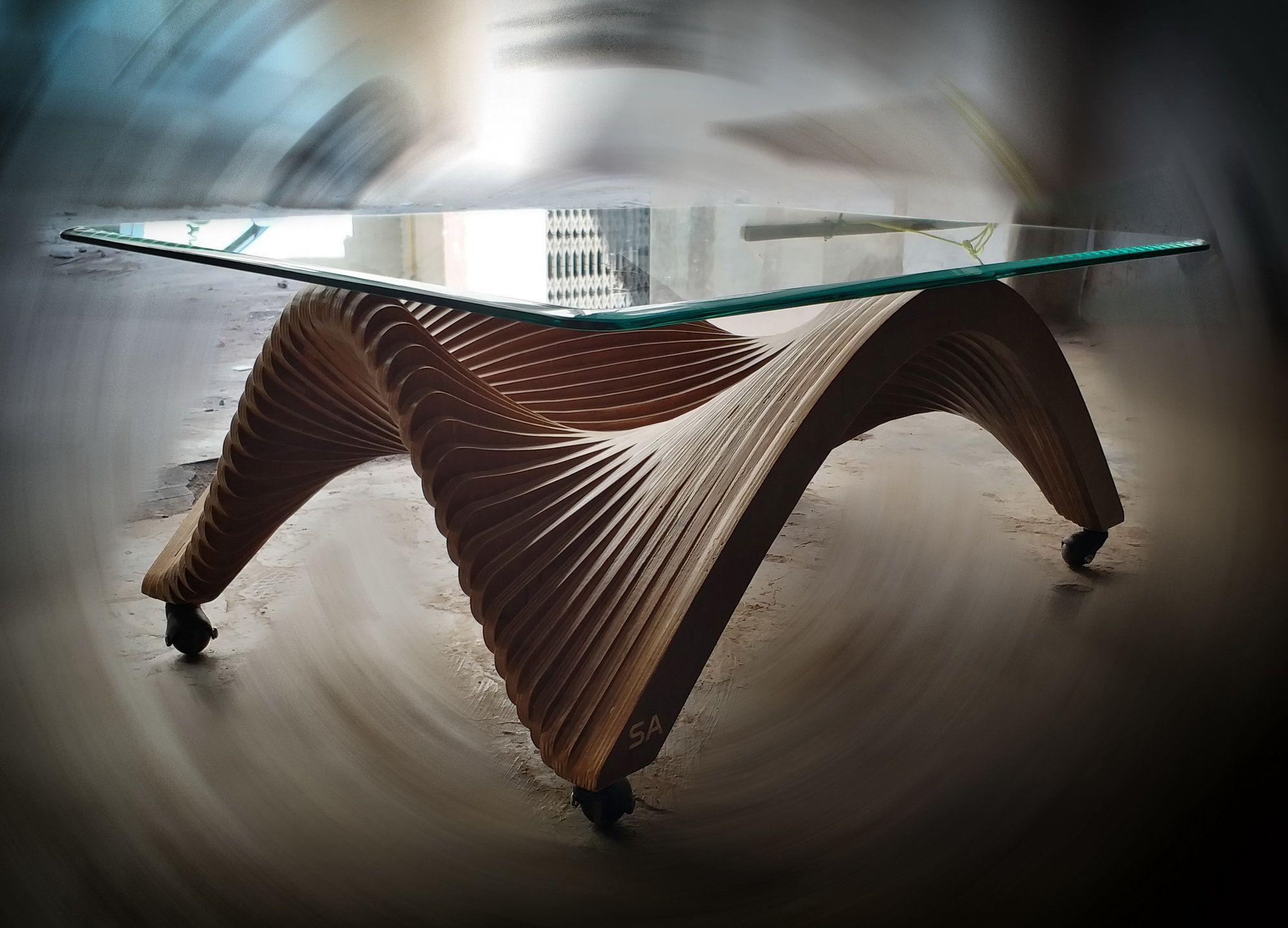 Parametric Coffee Table Digital File Modern Table Plan File Etsy Coffee Table Design Parametric Cnc Furniture [ 1442 x 2000 Pixel ]