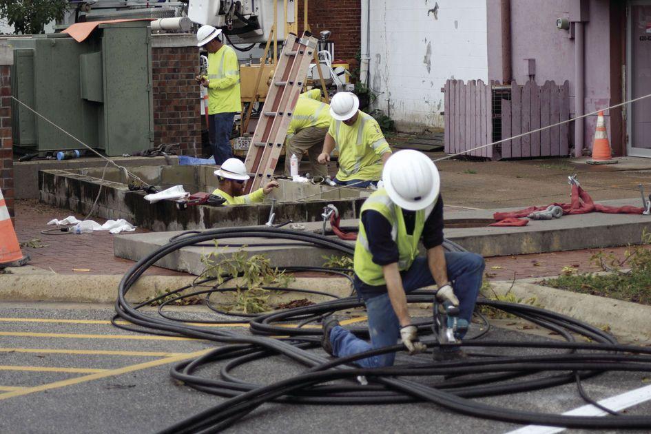 Line Failure Leads To Power Outage Powercut Power Outage Send