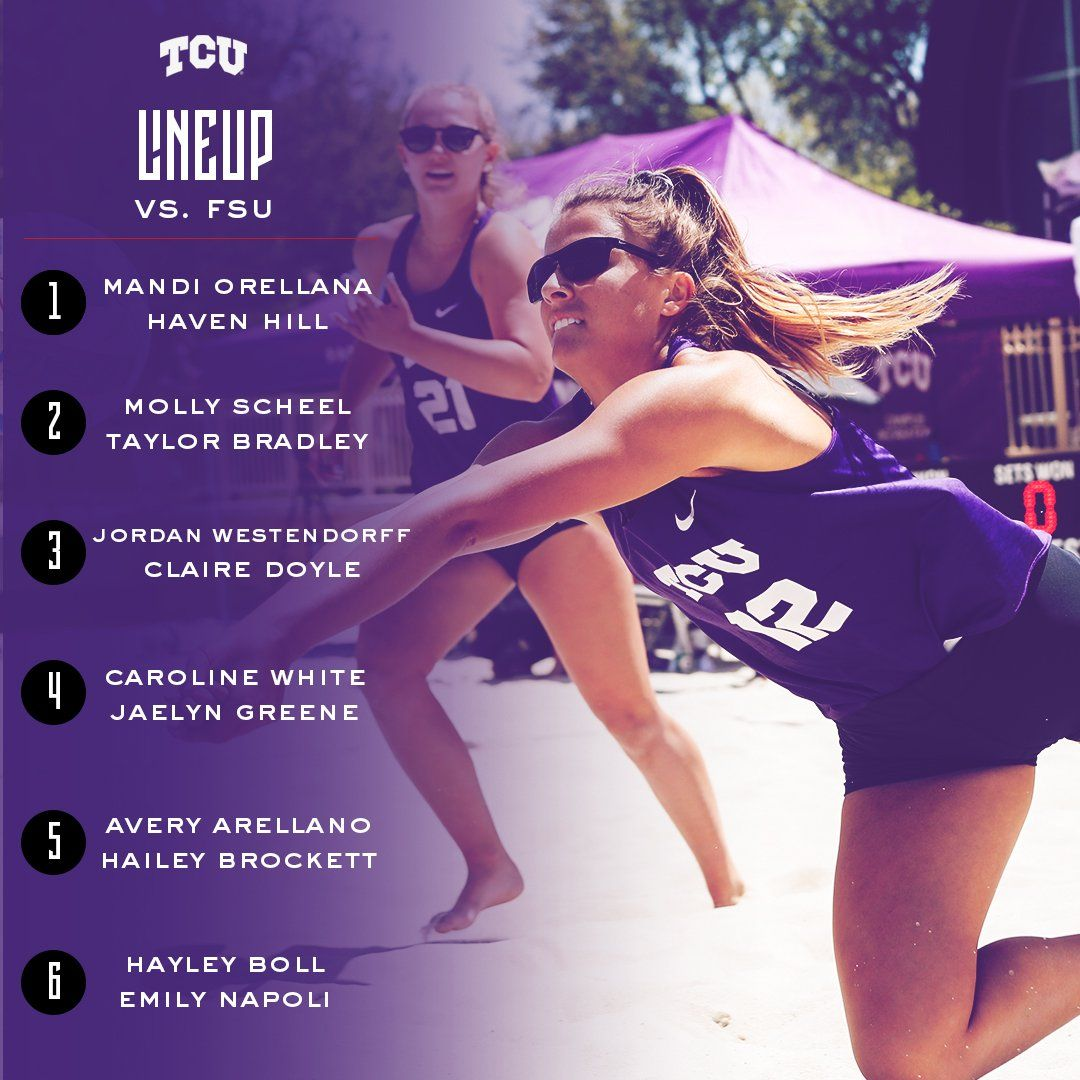 Tcu Beach Volleyball On Twitter Beach Volleyball Tcu Volleyball
