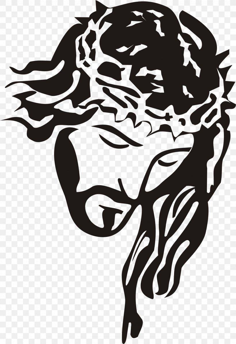 Jesus Christ Stencil Clip Art Png Stencil Art Big Cats Black Black And White Jesus Drawings Jesus Art Silhouette Art