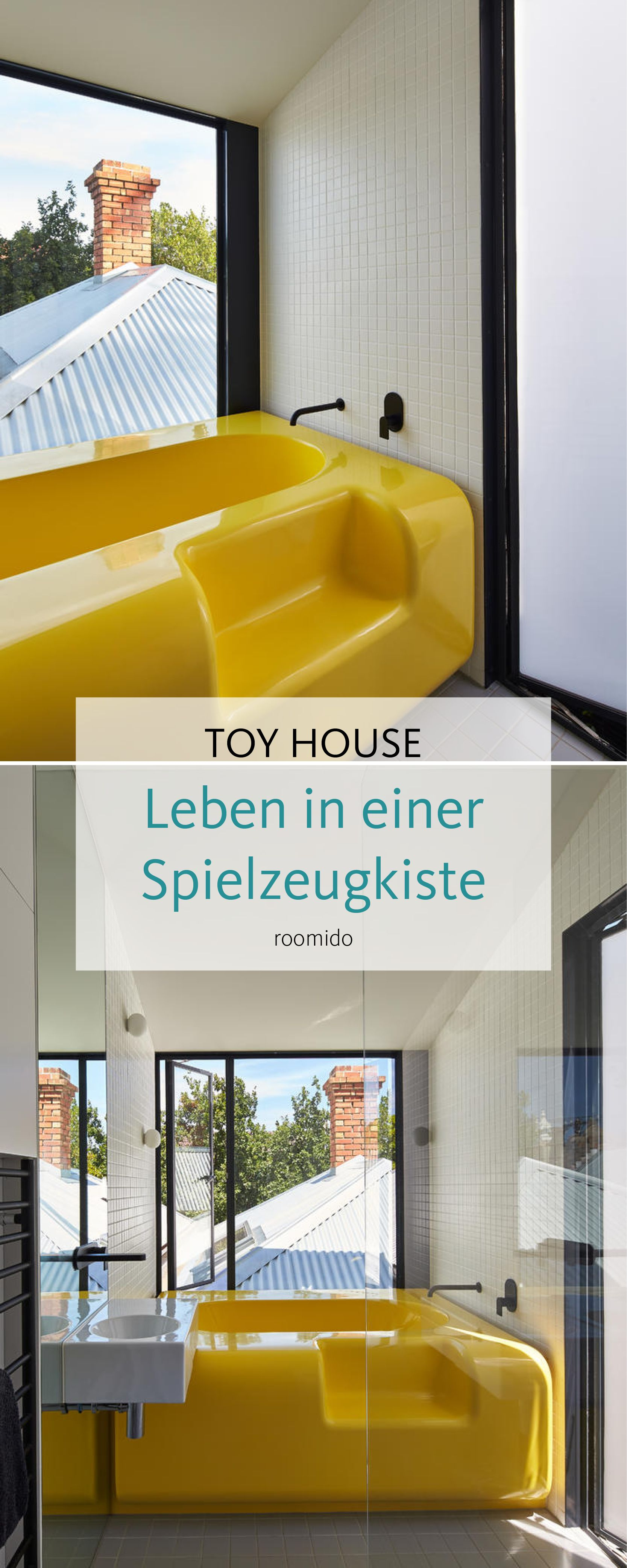 Roomido Badezimmer Modern The Toy Management House Leben In Einer überdimensionalen