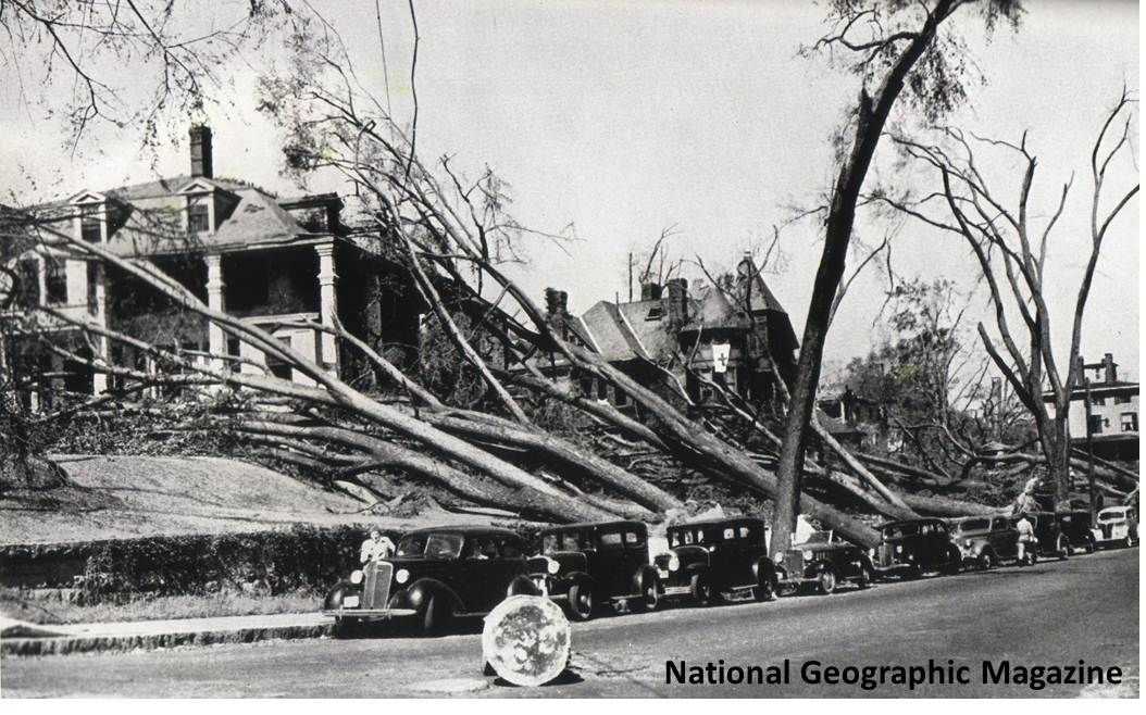Hurricane of 1938 in Connecticut  from NWS and National Geographic