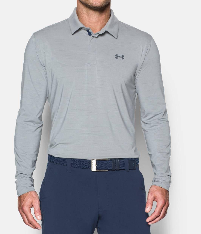 83e15eb2b6 Men's UA Playoff Long Sleeve Polo | Under Armour US | Birthday ...