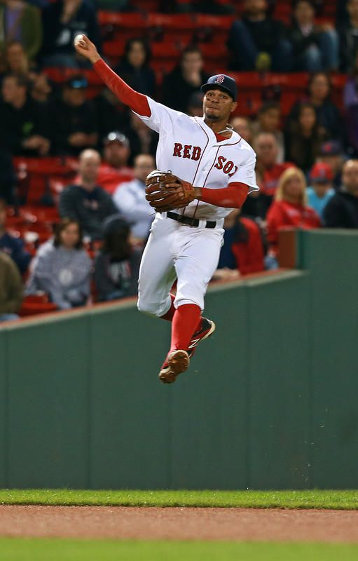 Red Sox Shortstop Xander Bogaerts Earns Gold Glove Nomination Red Sox Wallpaper Red Sox Nation Boston Red Sox Players