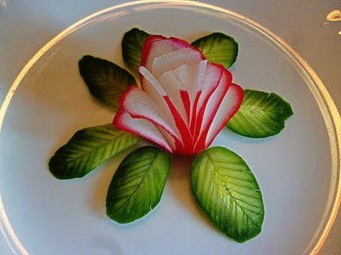 Thailändisches Gemüse-Schnitzen