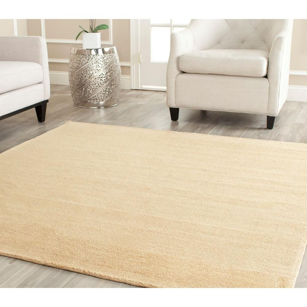 Himalaya Beige 8 Ft X Square Area Rug
