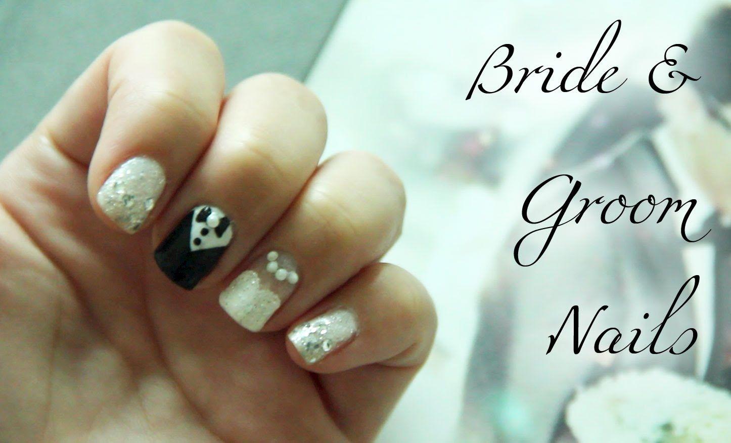 Bride Groom Nails By Bubzbeauty