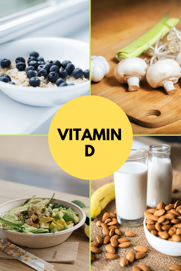 Vegan Vitamin D Supplements And Foods Tasteeco Vegan Vitamins Vegan Vitamin D Vegan Vitamins Sources