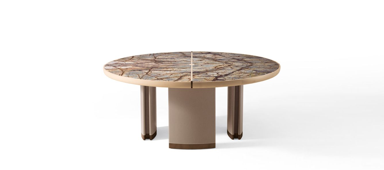 made in Italy Gordon table, project by Roberto