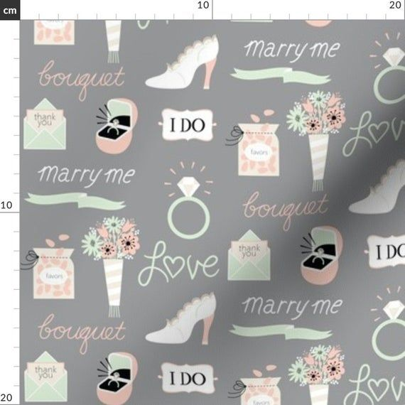 Marry Me! In Gray By Pinkowlet