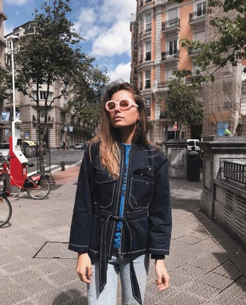 Ganni street style | Sophie Jorissen | Phillips Cotton Jacket