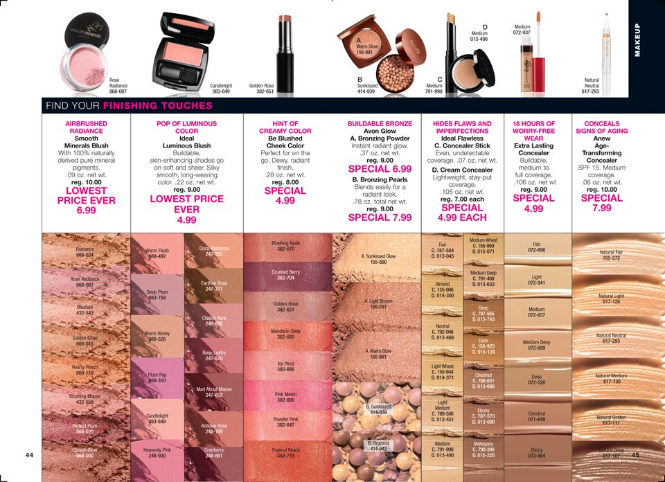 AVON USA Catalog for Campaign 14/2016. Introducing AVON LUCK LA VIE - live the fabulous life. Beauty for a Purpose.