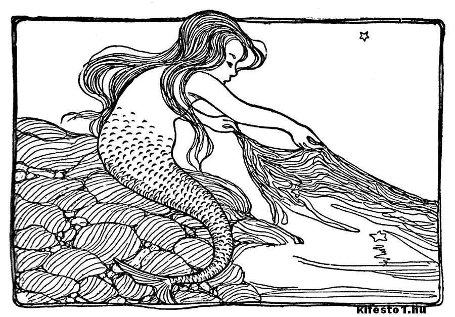 Malvorlagen Meerjungfrau H2o Aglhk
