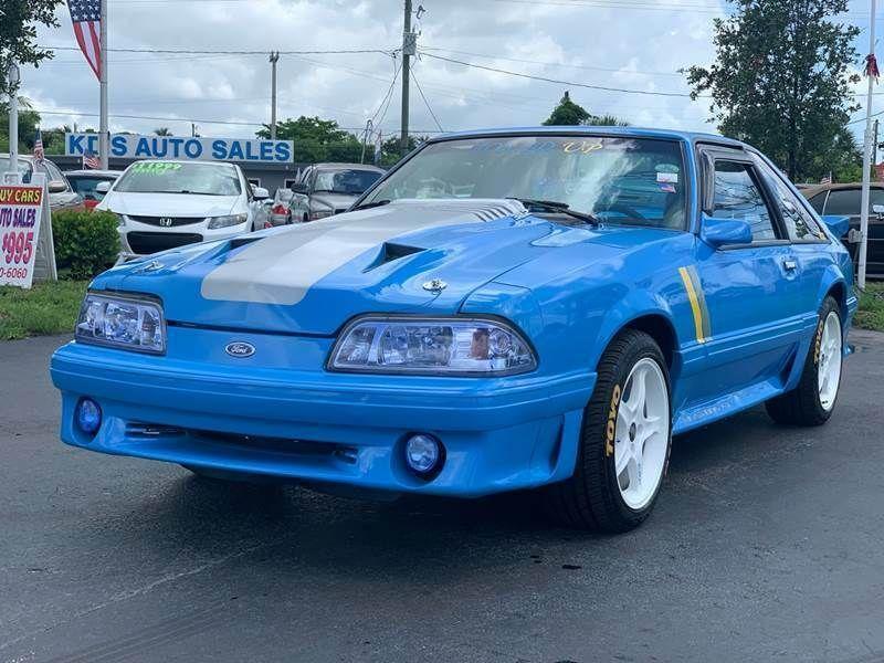 (eBay link) 1989 Ford Mustang GT 2dr Hatchback 1989 Ford Mustang GT 2dr Hatchback Manual 5Speed Cla