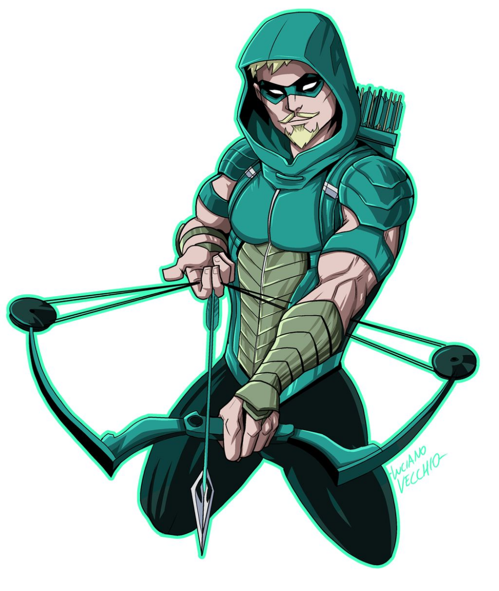 Green Arrow Rebirth By Lucianovecchio On Deviantart Green Arrow Comics Green Arrow Drawing Superheroes
