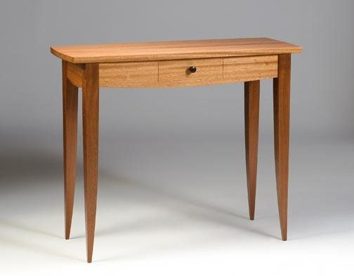 Hall Table With Drawers custom made sapele hall table with drawer. | side table
