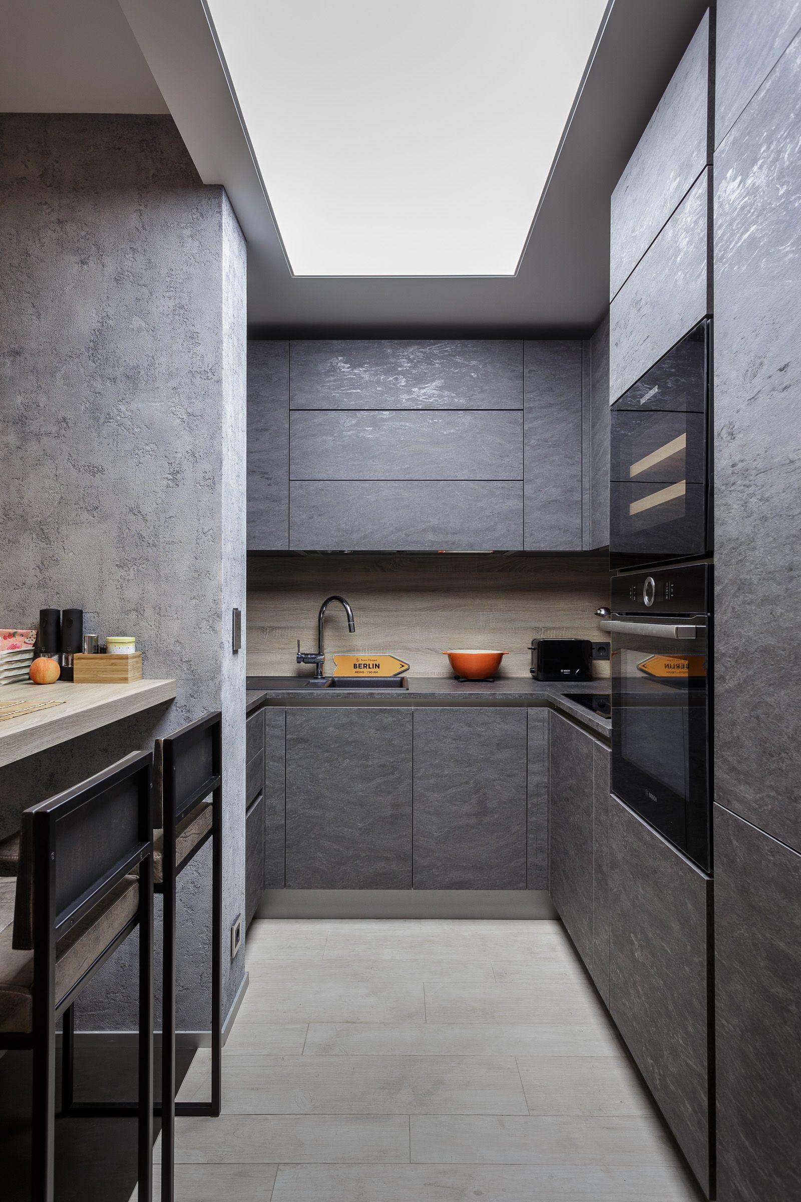 Кухня-гостиная NOLTE STONE / Kitchen Nolte STONE   Кухня-гостиная ...