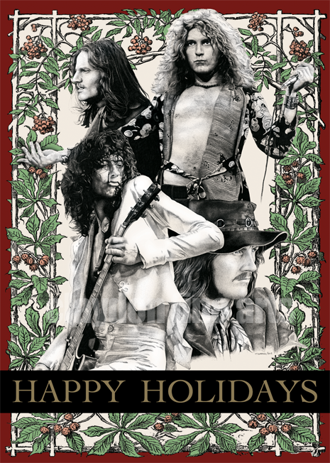 im having a led zeppelin christmas hope all my followers are having a great christmas love you xoxo - Led Zeppelin Christmas