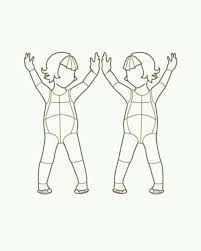 image result for mannequin template for kids illustrator kids