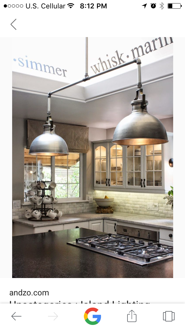 Pin By Lori Guevara On Lights Industrial Style Kitchen Modern