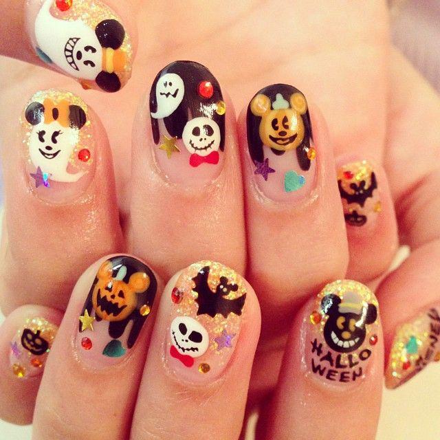 Disney Halloween!   Disney   Pinterest   Diseños de uñas de ...