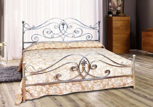 180x200 giovanna metallbett ehebett himmelbett metall designer bett italien t2 living. Black Bedroom Furniture Sets. Home Design Ideas