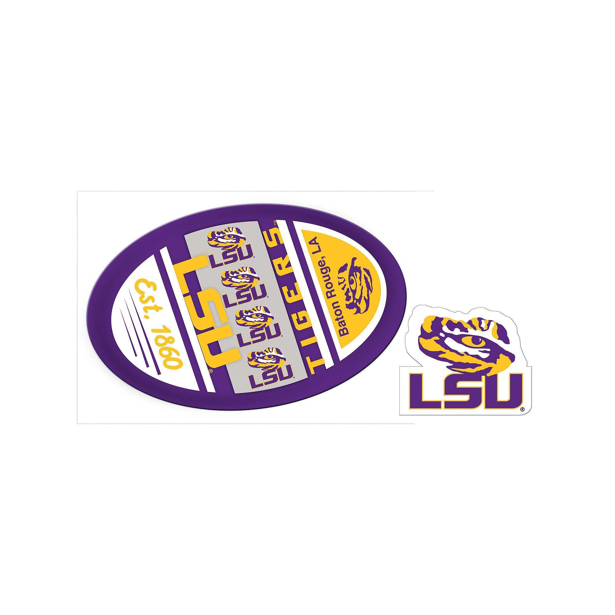 DAY Birger et Mikkelsen Kohl\'s LSU Tigers Game Decal Set | Pinterest ...