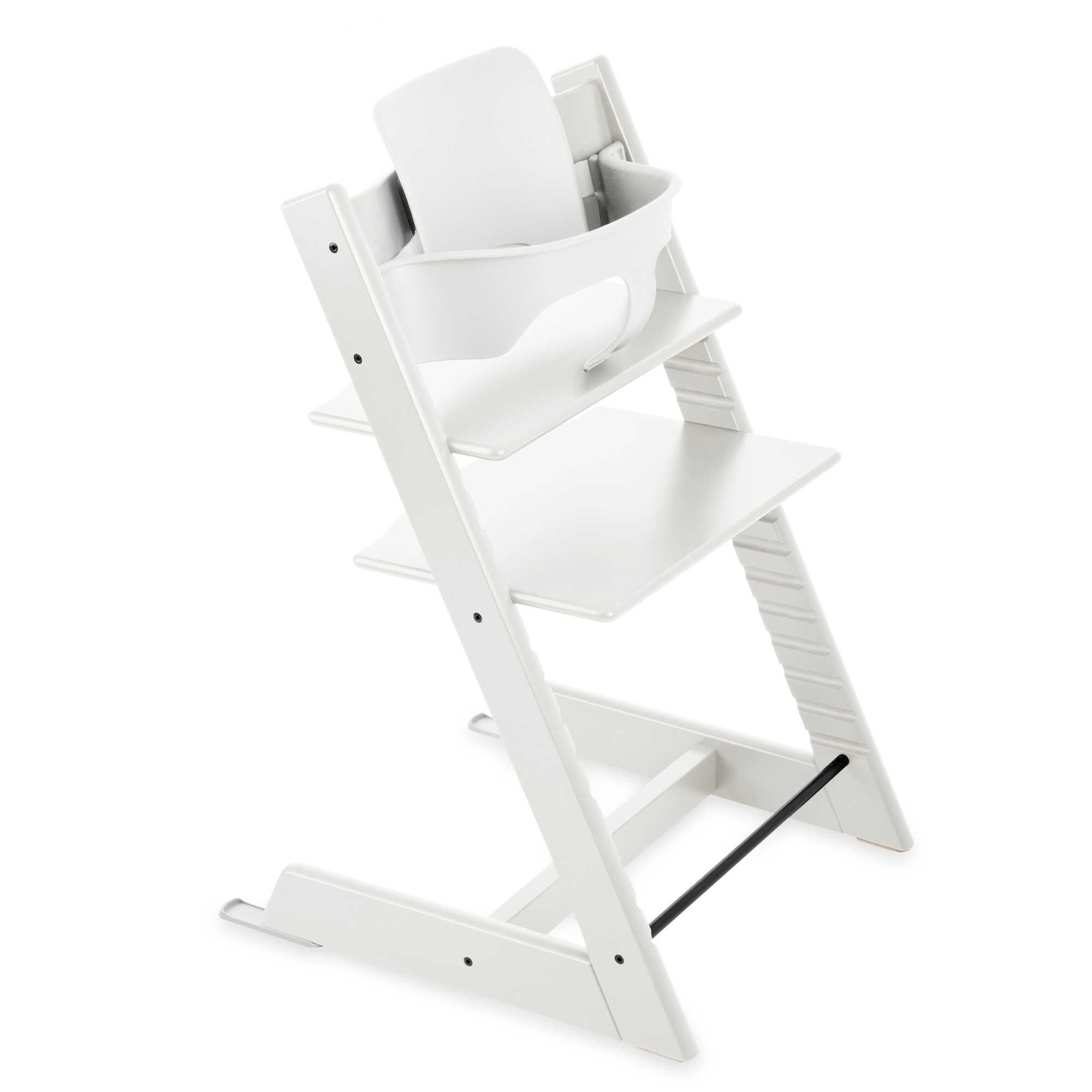 Chaise Haute Badabulle Blanc Gris Stokke Tripp Trapp Baby Set In White Baby Gear Pinterest
