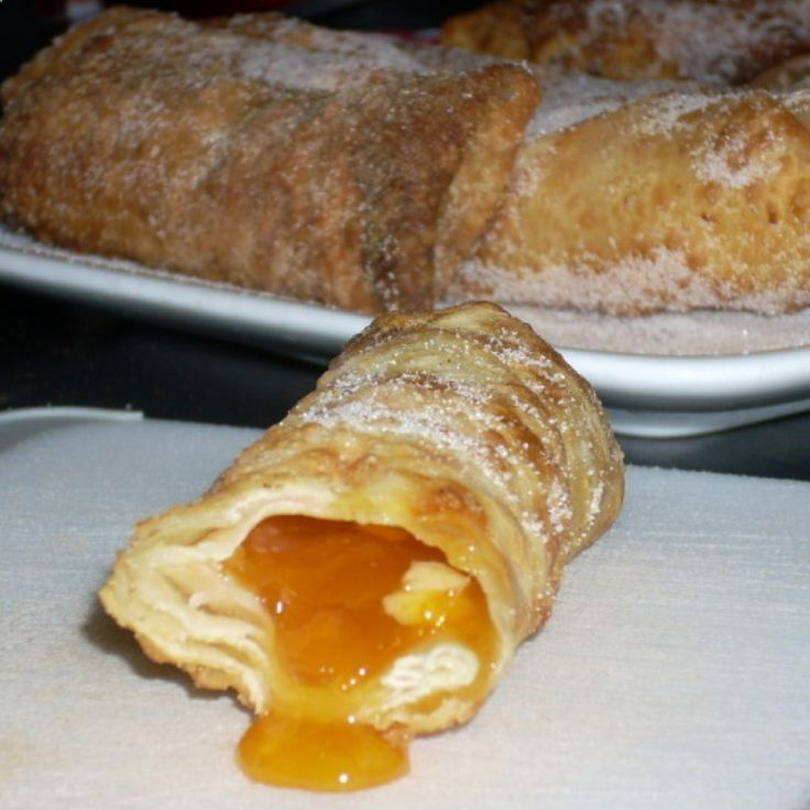 Apricot Cream Cheese Egg Rolls Recipe | Just A Pinch Recipes