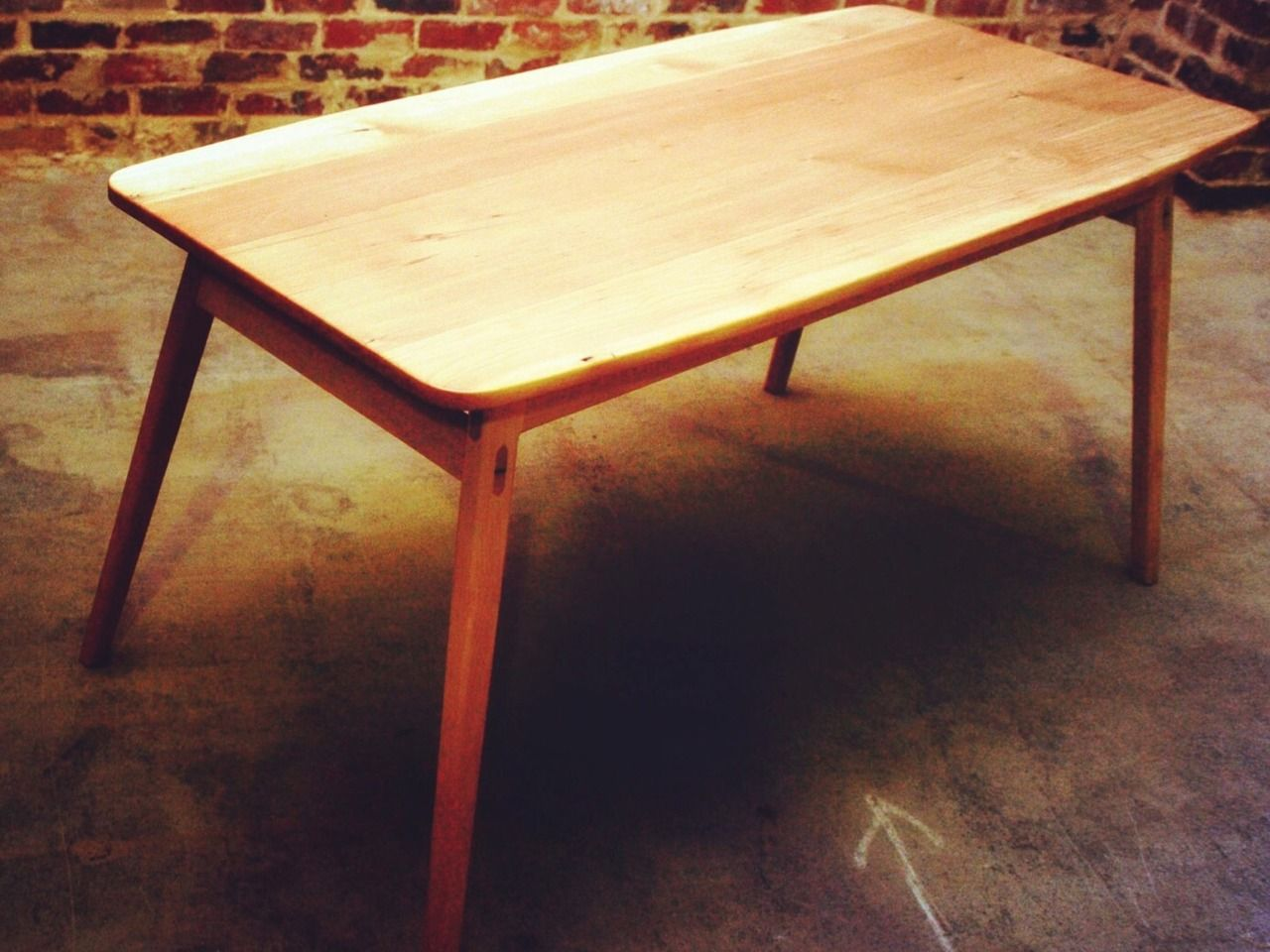 Pony Trestle Table By Michael Hayes. Trestle Style Table, Which Can Be Used  As A Desk Or Dining Table.