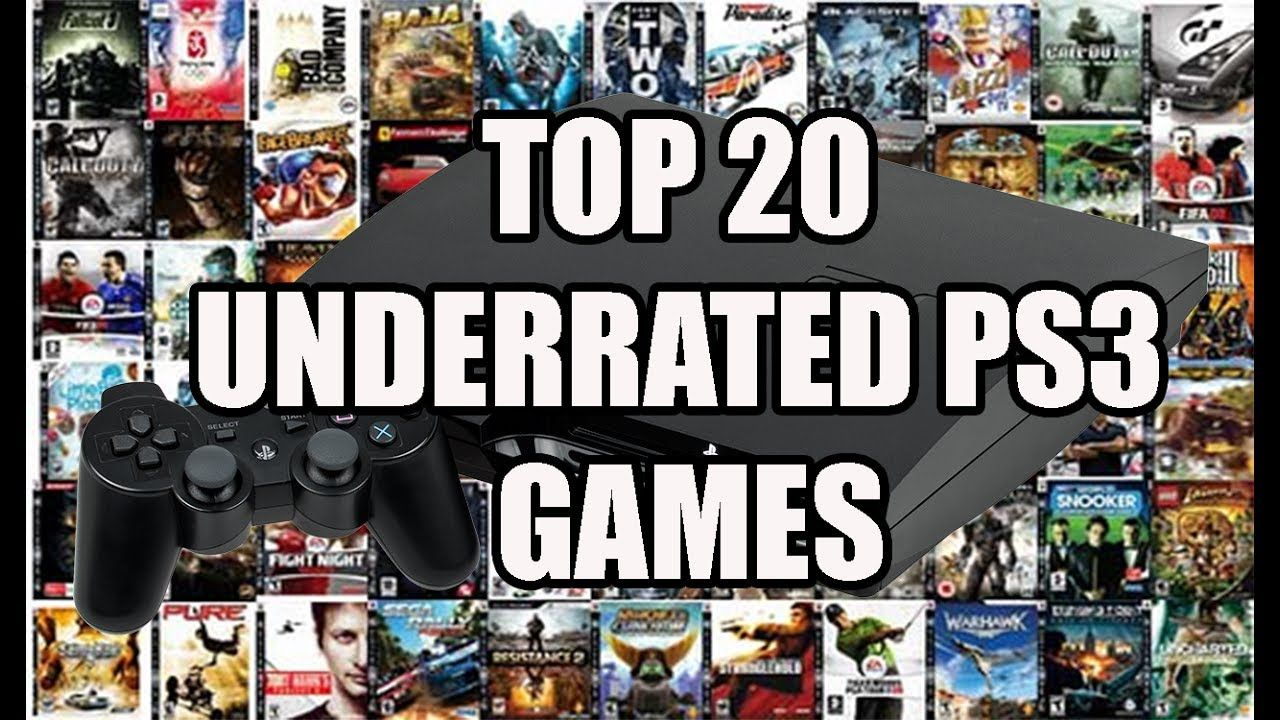 Top 20 Underrated PS3 Games | Ps3 games, Evolution of ...