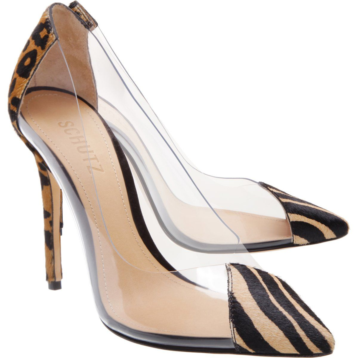 S Cendi 2 High Heel Animal Printed Pump | Schutz Shoes in