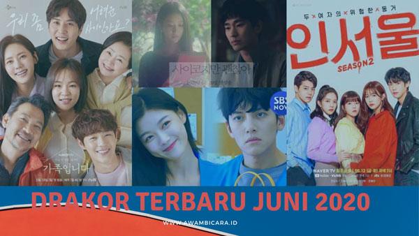 Empat Drama Korea Terbaru untuk Ditonton di Bulan Juni