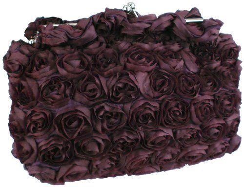 Purple Romantic Rose Rosette Sheer Satin Soft Baguette Evening Clutch Handbag Purse w/Detachable Chain MG Collection http://www.amazon.com/dp/B004FVQCHA/ref=cm_sw_r_pi_dp_ro1Qtb1SCFBAWCF2