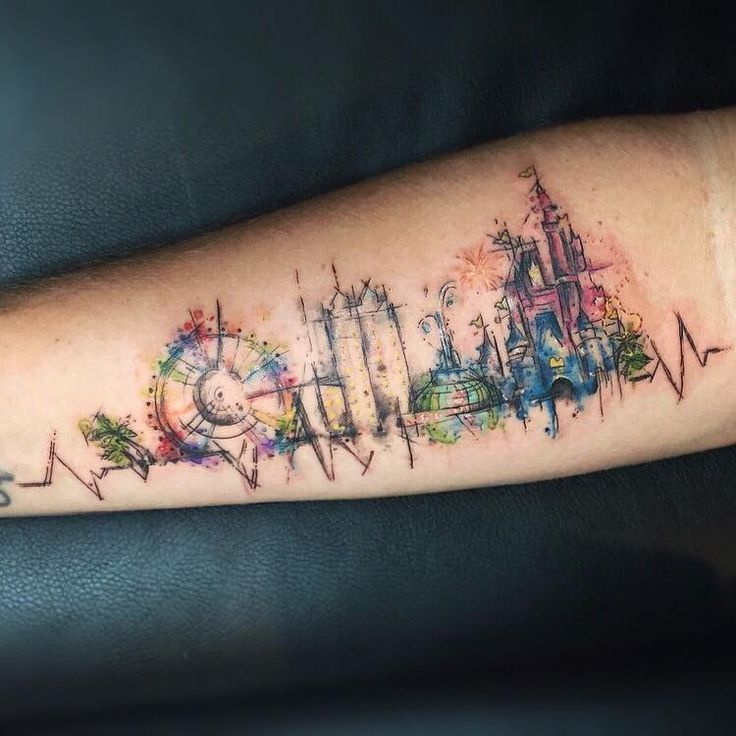 Travel Tattoo Girly Tattoos Tattoos Disney Tattoos
