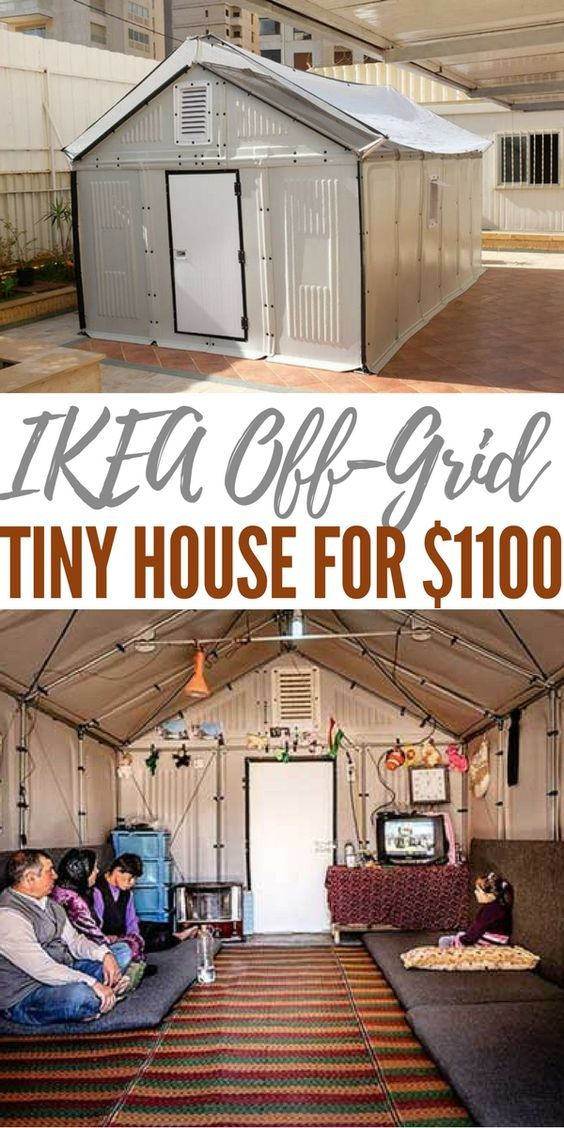 Ikea Off Grid Tiny House For 1100 Off Grid Tiny House House Tiny House Plans