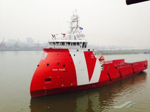 VOS PACE - Offshore Tug/Supply Ship - Details and current position IMO 9685750 MMSI 244830168 | Vessels | VesselFinder