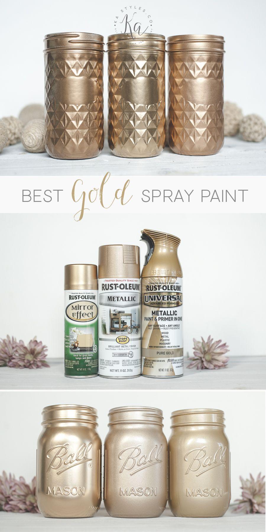 Best Gold Spray Paint Colors Best Gold Spray Paint Spray Paint Furniture Spray Paint Vases