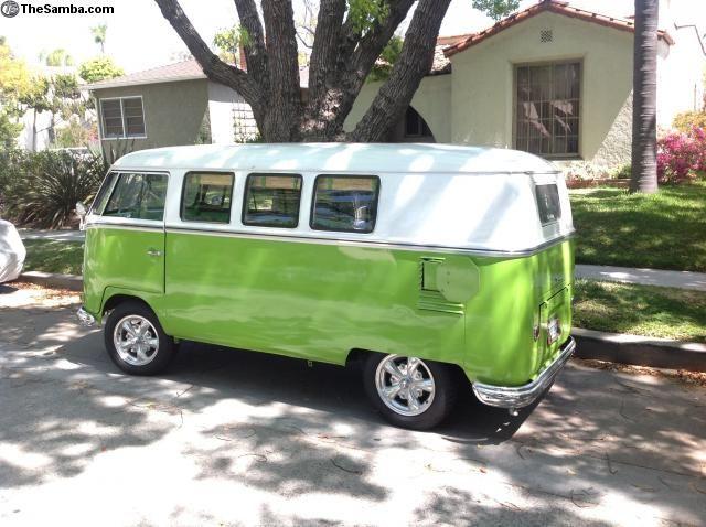 1958 VW panel Bus