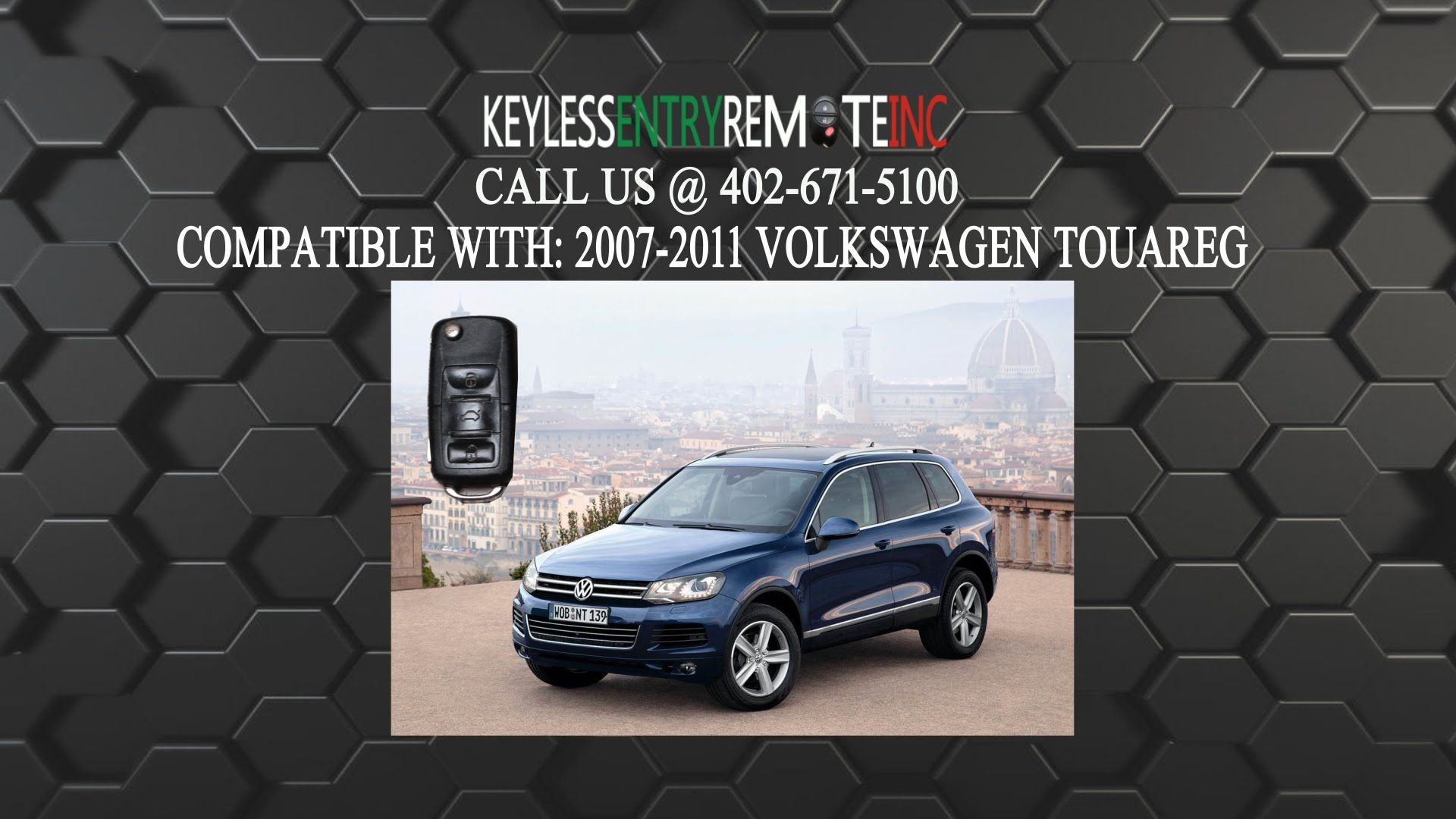 Volkswagen Touareg Key Fob Battery Replacement 2007 2008