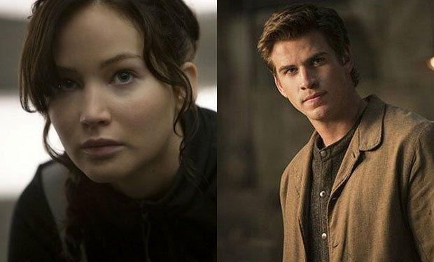 Jennifer Lawrence and Liam Hemsworth in new pictures from The Hunger Games: Catching Fire