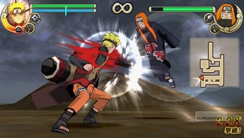 download game naruto ninja impact mod ppsspp