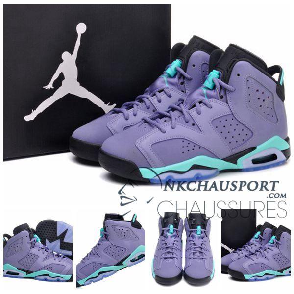 Violet Basket Homme De Jordan Nike Chaussure Air 6Classique dBWrCxoe