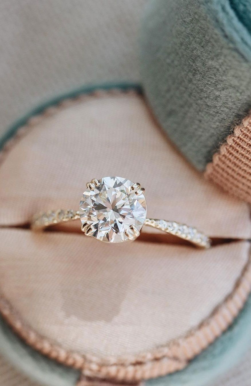 100 The most beautiful engagement rings you'll want to own #cushionengagementring