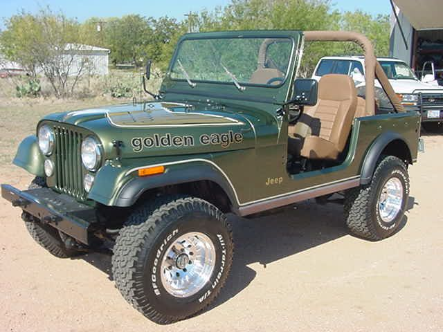 Golden Eagle Jeep Cj7 Jeep Jeep Cars