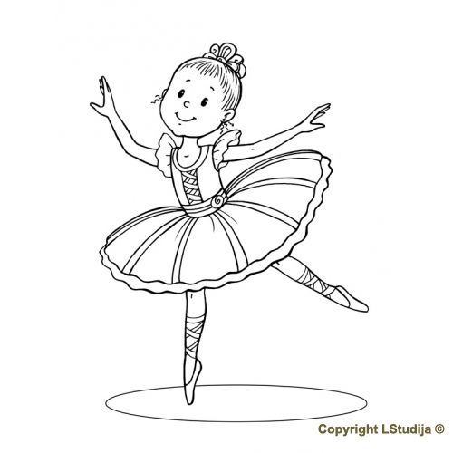 Little Ballerina Ballerina Coloring Pages Hello Kitty Colouring Pages Hello Kitty Coloring