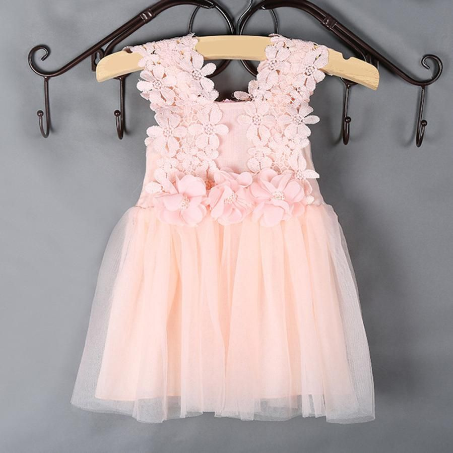 flower girls dresses for party and wedding aby Toddler Kid\'s Strap ...