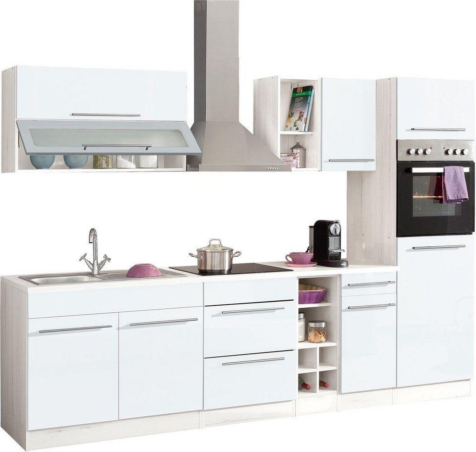 Küchenzeile, HELD MÖBEL, »Avignon«, ohne EGeräte, Breite
