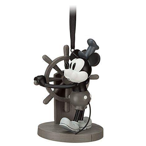 Steamboat Willie Sketchbook Ornament Disney