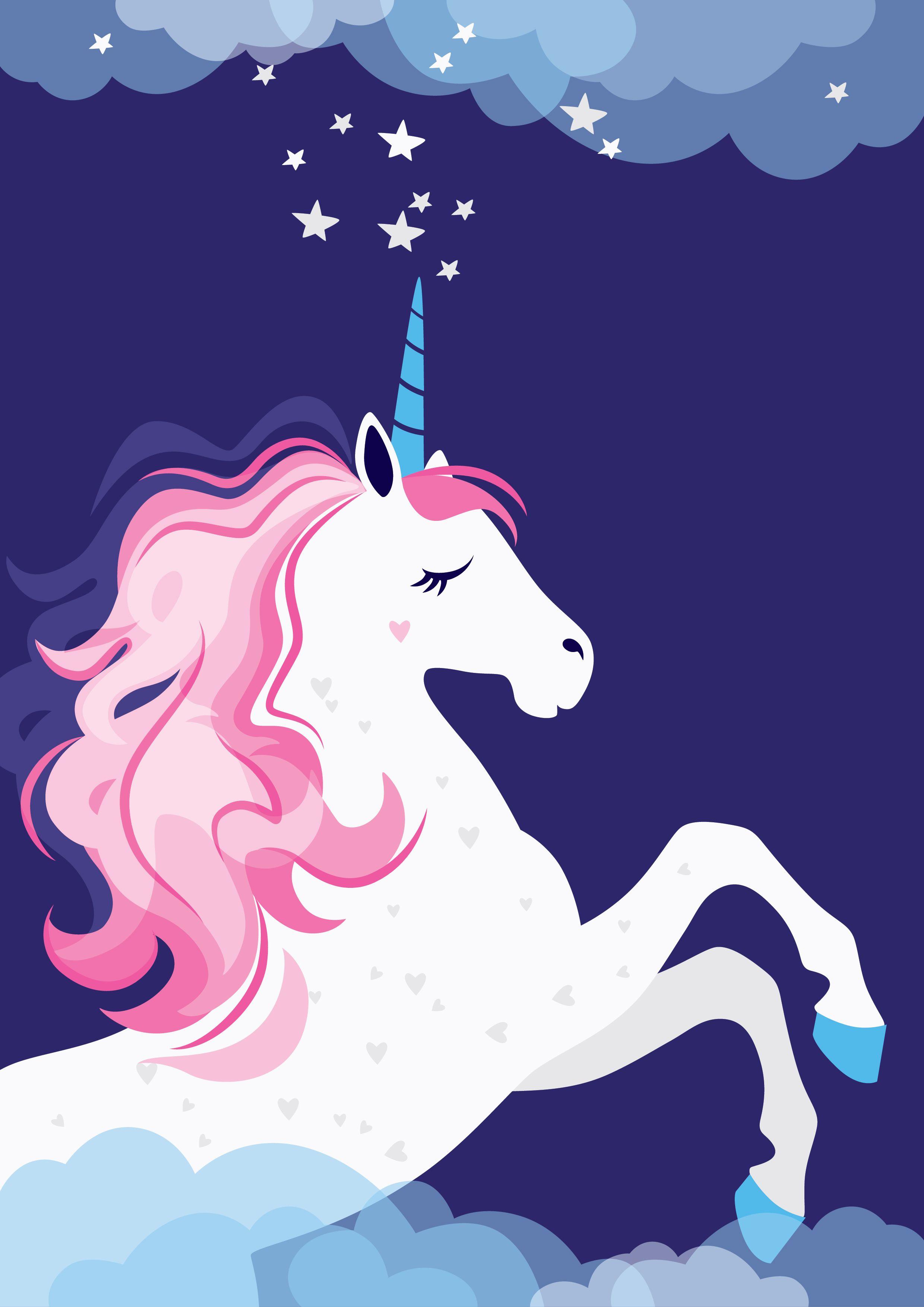 Unicorn Festivalposter Poster Design Pink Kids Girl Momblog Love Fairytail Stars Horse Unicorn Wallpaper Cute Unicorn Art Unicorn Illustration